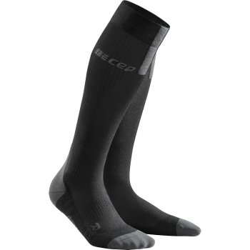CEP Run 3.0 Compression Socks Herren | Black Dark Grey