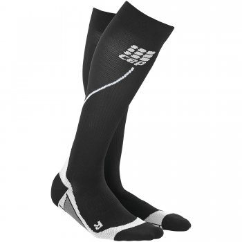 CEP Run 2.0 Compression Socks Herren | Black Grey