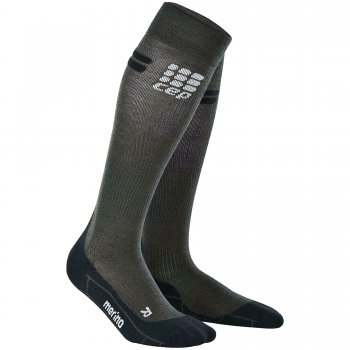 CEP Kompression Run Merino Socken (Damen)
