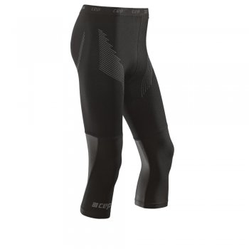 CEP Active Base Compression 3/4 Tight Herren | Black