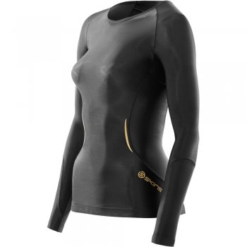 SKINS A400 Compression Long Shirt (Damen)