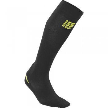 CEP Ortho Achilles Support Compression Socks Damen | Black Green