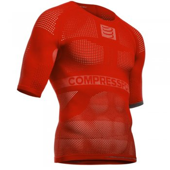 Compressport Multisport T-Shirt mit Kompression (Herren)