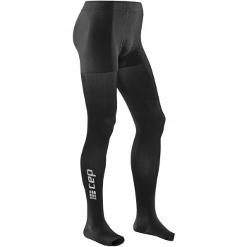 CEP Recovery Pro Compression Long-Tight Herren | Black