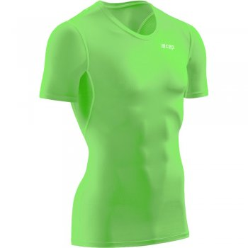 CEP Wingtech Compression T-Shirt Herren | Viper Green