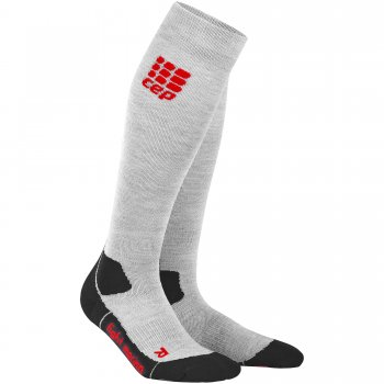 CEP Outdoor Light Merino Compression Socks Herren | Volcanic Dust
