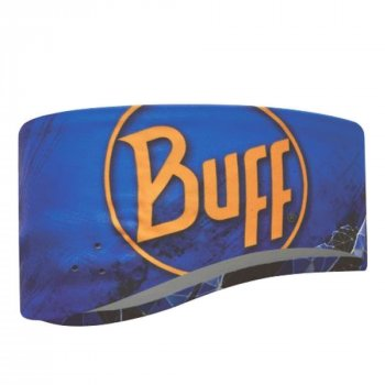 Buff Windproof Headband - Anton Blue Ink -