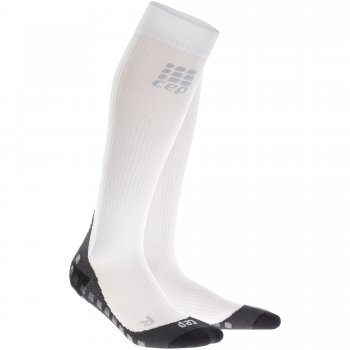 CEP Run Griptech Compression Socks Herren | White