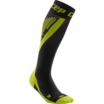 CEP Run Nighttech Compression Socks Herren | Green