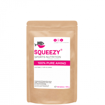 Squeezy 100 % Pure Amino Tabletten *Vegan*