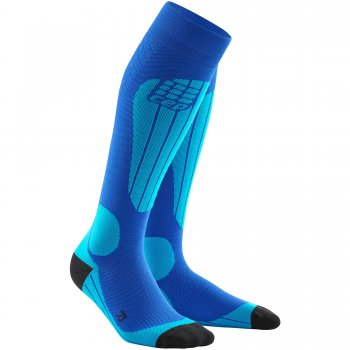 CEP Ski Thermo Compression Socks Herren | Blue Azur