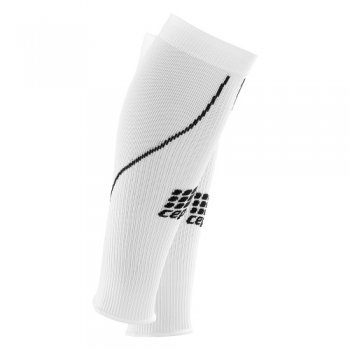 CEP 2.0 Compression Calf Sleeves Damen | White