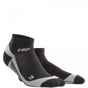 CEP Run 2.0 Low Cut Compression Socks Damen | Black Grey