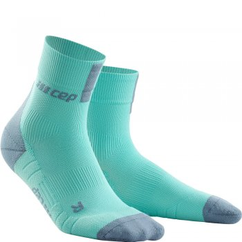 CEP Run 3.0 Short Cut Compression Socks Damen | Ice Grey