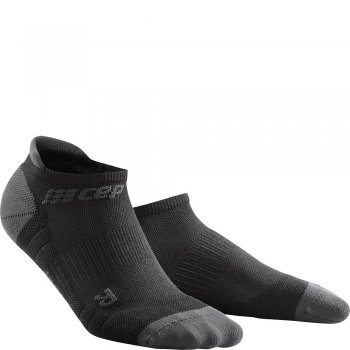 CEP Run 3.0 No Show Compression Socks Damen | Black Dark Grey