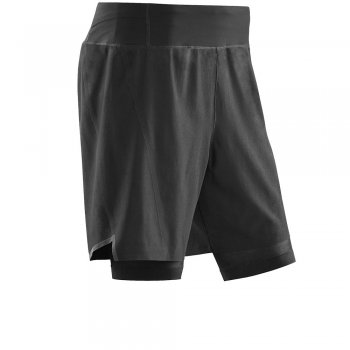 CEP Run 3.0 Compression 2-in-1 Short Herren | Black