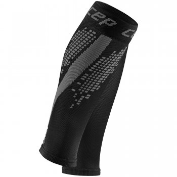 CEP Nighttech Compression Calf Sleeves Damen | Black Grey