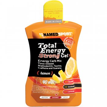 NAMEDSPORT Total Energy Strong Gel *Koffein + Taurin*