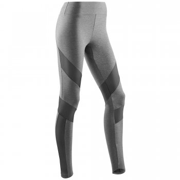CEP Training Tights Damen | Grey Melange