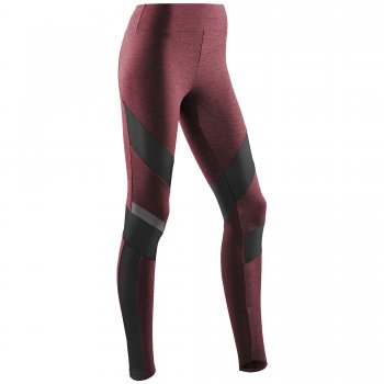CEP Training Tights Damen | Cardio Cherry Melange