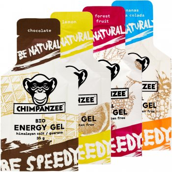 Chimpanzee Natural Energy Gel Testpaket *Maximale Vielfalt*