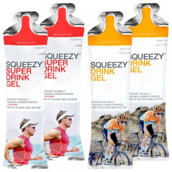Squeezy Energy Drink Gel Testpaket