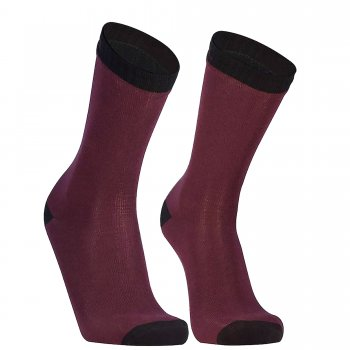 DexShell Ultra Thin Crew Socks | Wasserdicht | Rot