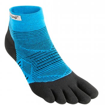 Injinji Run Lightweight Mini-Crew Zehensocken | Dünn | Blau