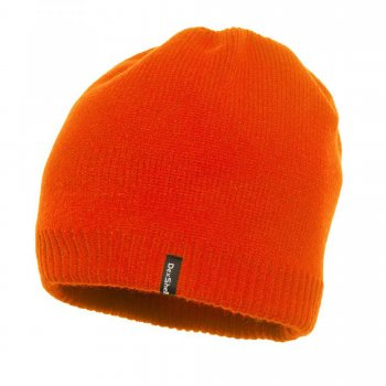 DexShell Beanie Winter Mütze | Wasserdicht | Orange