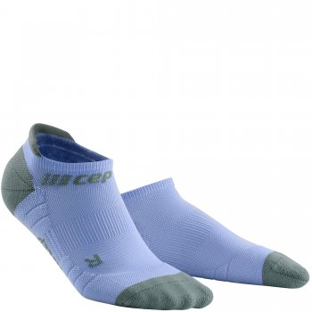 CEP Run 3.0 No Show Compression Socks Damen | Sky Grey Purple