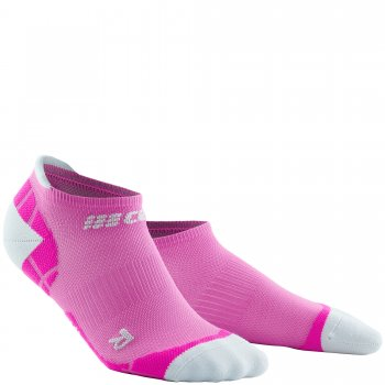 CEP Ultralight No Show Compression Socks Damen | Electric Pink