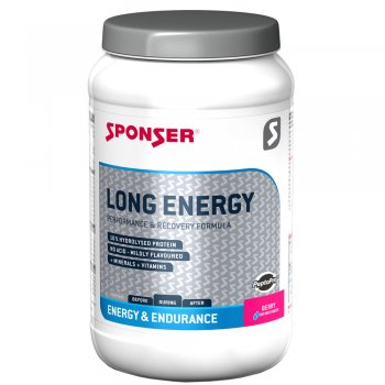 Sponser Long Energy *Mit 10% Eiweiß* Berry