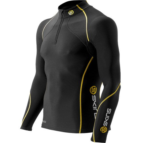 SKINS A200 Thermal Compression Long Shirt (Herren) *Mit Zip*