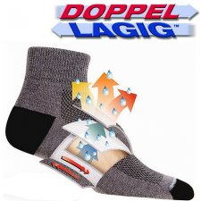 WrightSock Escape Crew Socken *Anti-Blasen-System*