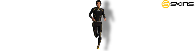 Skins Compression Kleidung Sportler